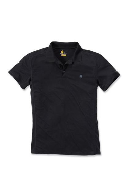 FORCE EXTREMES POLO NON-POCKET BLK - CARHARTT