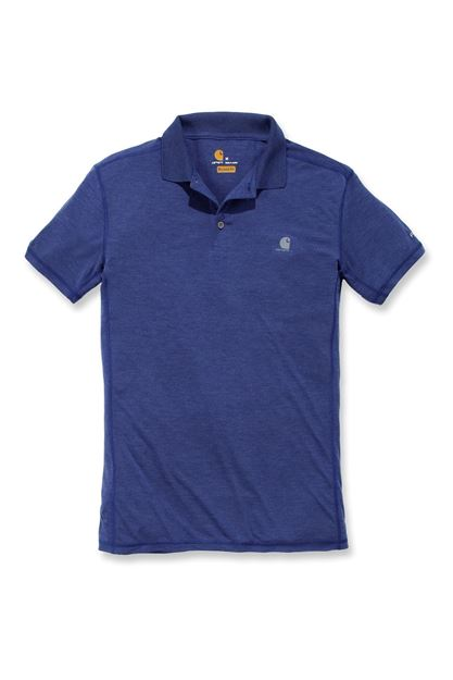 FORCE EXTREMES POLO NON-POCKET BLUEPRINT HEATHER - CARHARTT