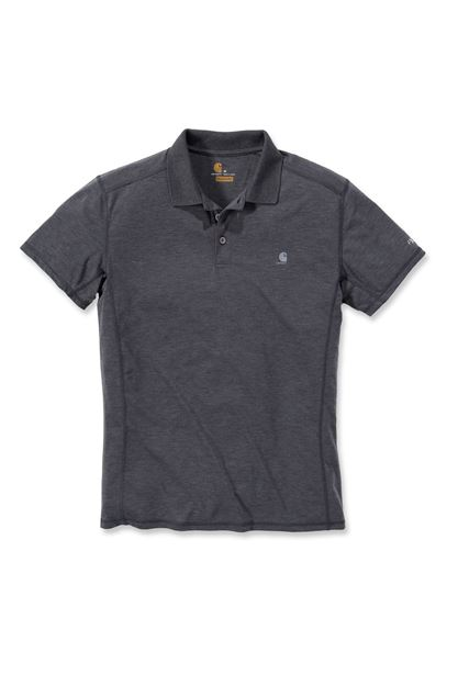 FORCE EXTREMES POLO NON-POCKET SHADOW HEATHER - CARHARTT