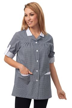 ΓΥΝΑΙΚΕΙΑ ΜΠΛΟΥΖΑ SIGGI HORECA DEBBY LADIES TUNIC DARK BLUE