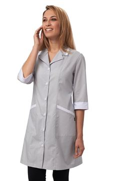 ΓΥΝΑΙΚΕΙΑ ΡΟΜΠΑ SIGGI HORECA MIA LADIES TUNIC GREY
