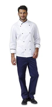 ΣΑΚΑΚΙ ΣΕΦ SIGGI HORECA FLOYD CHEF JACKET WHITE