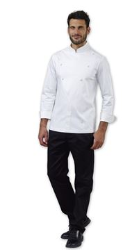 ΣΑΚΑΚΙ ΣΕΦ SIGGI HORECA LANNY CHEF JACKET WHITE