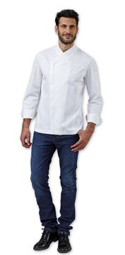 ΣΑΚΑΚΙ ΣΕΦ SIGGI HORECA KIRK CHEF JACKET WHITE