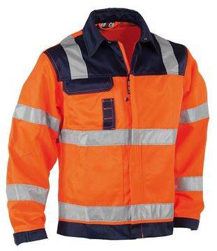 ΜΠΟΥΦΑΝ ΕΡΓΑΣΙΑΣ HEROCK HYDROS JACKET FLUO ORANGE/NAVY