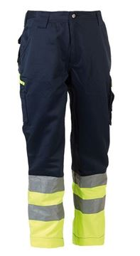ΠΑΝΤΕΛΟΝΙ ΕΡΓΑΣΙΑΣ HEROCK OLYMPUS TROUSERS NAVY/FLUO YELLOW