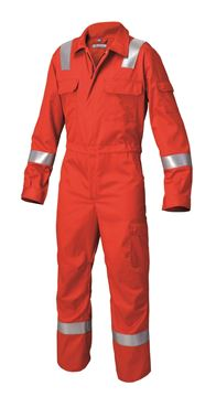 ΟΛΟΣΩΜΗ ΦΟΡΜΑ ΕΡΓΑΣΙΑΣ SIGGI MULTIPRO OVERALL WITH TAPES Nomex RED