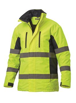 ΜΠΟΥΦΑΝ ΕΡΓΑΣΙΑΣ SIGGI HV LONG SEASON PARKA YELLOW