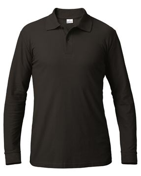 ΜΠΛΟΥΖΑ ΕΡΓΑΣΙΑΣ SIGGI SUMMER POLO SHIRT LS BLACK
