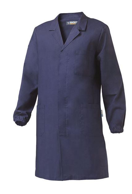 ΑΝΔΡΙΚΗ ΡΟΜΠΑ ΕΡΓΑΣΙΑΣ SIGGI CAPRI MAN COAT BLUE