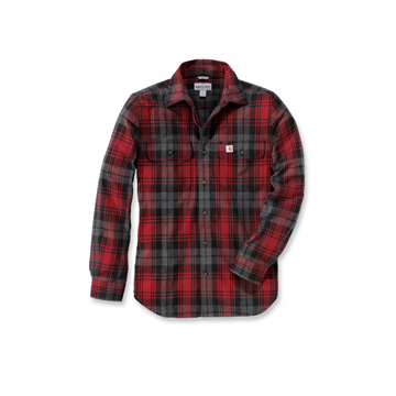 ΠΟΥΚΑΜΙΣΟ HUBBARD SLIM FIT FLANNEL SHIRT DKC - CARHARTT