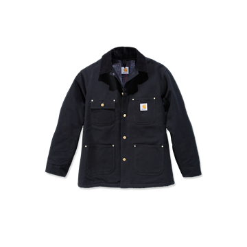 ΜΠΟΥΦΑΝ DUCK CHORE COAT BLACK - CARHARTT