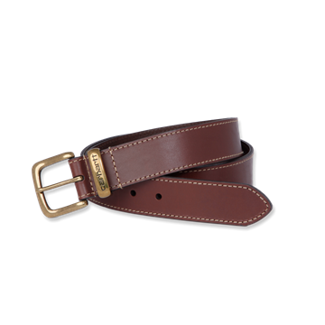 ΖΩΝΗ JEAN BELT BROWN CARHARTT