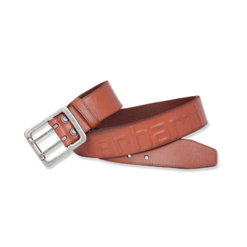 ΖΩΝΗ LOGO BELT BROWN CARHARTT