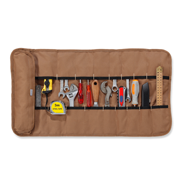 ΘΗΚΗ ΕΡΓΑΛΕΙΩΝ LEGACY TOOL ROLL BROWN - CARHARTT