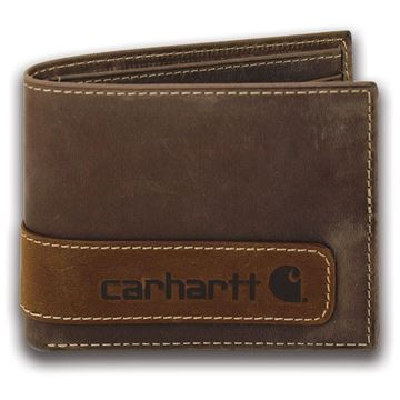 ΠΟΡΤΟΦΟΛΙ TWO TONE BILLFOLD WITH WING WALLET BRN - CARHARTT