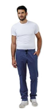 UNISEX ΠΑΝΤΕΛΟΝΙ ΙΑΤΡΟΥ SIGGI DR BLUE STAN TROUSERS EASYFIT BLUE