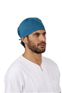 UNISEX ΜΠΑΝΤΑΝΑ ΙΑΤΡΟΥ SIGGI DR BLUE MIRRIAL HEADSCARF MODAL GREEN