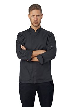 ΣΑΚΑΚΙ ΣΕΦ SIGGI HORECA SEBASTIAN CHEF JACKET BLACK
