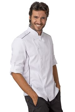 ΣΑΚΑΚΙ ΣΕΦ SIGGI HORECA ALEX CHEF JACKET WHITE