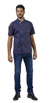 ΣΑΚΑΚΙ ΣΕΦ SIGGI HORECA DAVIN CHEF JACKET BLUE