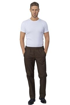 ΠΑΝΤΕΛΟΝΙ ΣΕΦ SIGGI HORECA JOSH CHEF TROUSERS BROWN