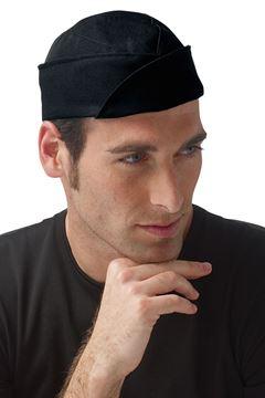 ΣΚΟΥΦΟΣ ΜΑΓΕΙΡΑ SIGGI HORECA BRAD CHEF CAP BLACK