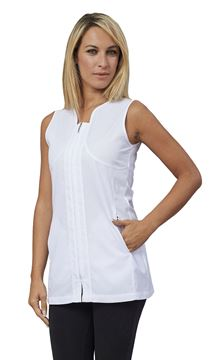 ΓΥΝΑΙΚΕΙΑ ΜΠΛΟΥΖΑ SIGGI HORECA SABA LADIES TUNIC WHITE