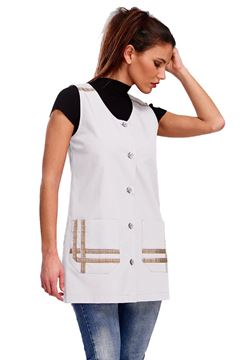 ΓΥΝΑΙΚΕΙΑ ΜΠΛΟΥΖΑ SIGGI HORECA LIZZY LADIES TUNIC WHITE