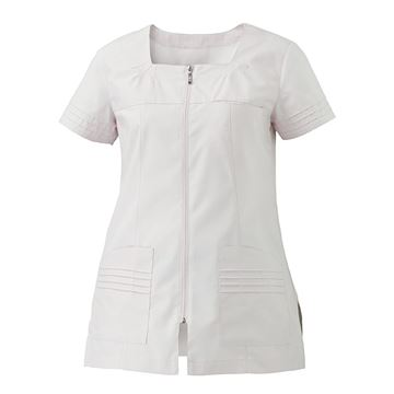 ΓΥΝΑΙΚΕΙΑ ΜΠΛΟΥΖΑ SIGGI HORECA VALERIA LADIES TUNIC WHITE