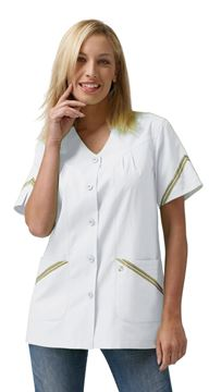 ΓΥΝΑΙΚΕΙΑ ΜΠΛΟΥΖΑ SIGGI HORECA GARDENIA LADIES TUNIC WHITE