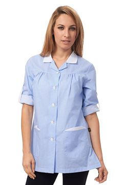 ΓΥΝΑΙΚΕΙΑ ΜΠΛΟΥΖΑ SIGGI HORECA DERBY LADIES TUNIC LIGHT BLUE