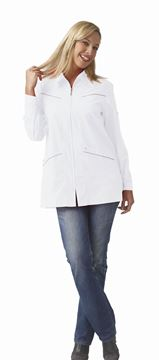 ΓΥΝΑΙΚΕΙΑ ΡΟΜΠΑ SIGGI HORECA SANDY LADIES TUNIC WHITE