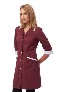 ΓΥΝΑΙΚΕΙΑ ΡΟΜΠΑ SIGGI HORECA MIA LADIES TUNIC BORDEAUX