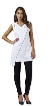 ΓΥΝΑΙΚΕΙΑ ΡΟΜΠΑ SIGGI BEAUTY ANNIS WOMAN PINAFORE WHITE
