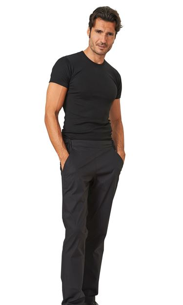 ΑΝΔΡΙΚΟ ΠΑΝΤΕΛΟΝΙ SIGGI BEAUTY GEREMY MAN TROUSERS BLACK