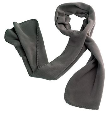 ΚΑΣΚΟΛ FLEECE BAKA SCARF GREY - HEROCK