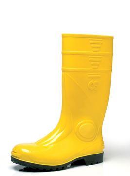 Μπότες ασφαλείας PVC MA.CRI 116 κίτρινες