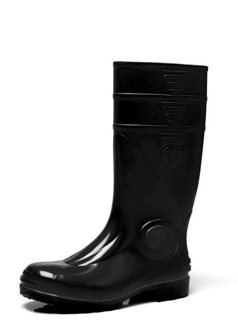Μπότες ασφαλείας PVC MA.CRI 116 μαύρες