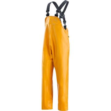 NERI SPA Αδιάβροχο παντελόνι - φόρμα με τιράντες  FISHERMAN YELLOW