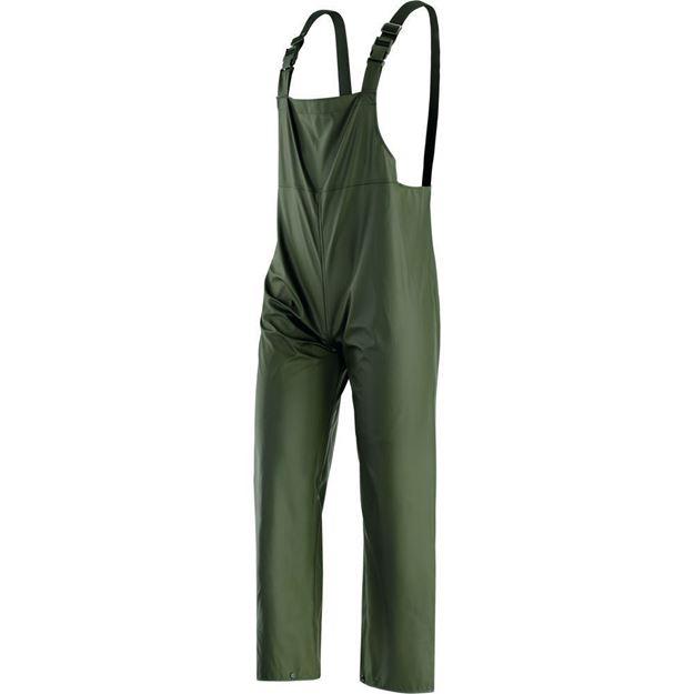 NERI SPA Αδιάβροχο παντελόνι με τιράντες VICTORIA GREEN