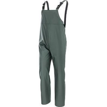 NERI SPA Αδιάβροχο παντελόνι με τιράντες IGUAZU GREEN