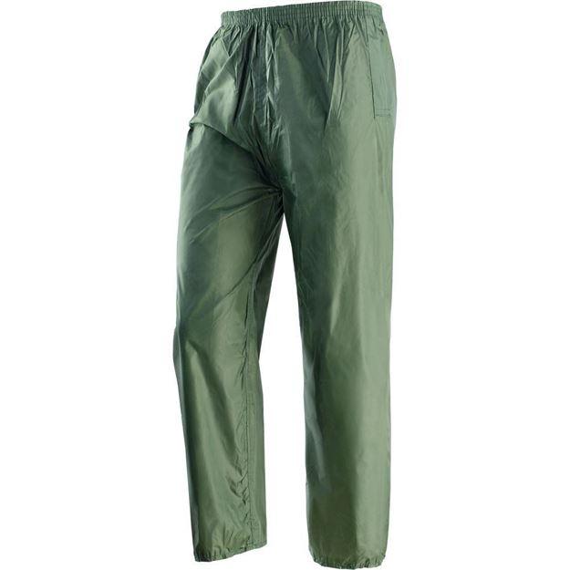 NERI SPA Αδιάβροχο παντελόνι πράσινο NIAGARA