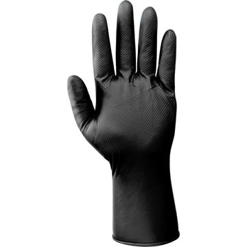 NERI SPA Γάντια μιας χρήσης CLEAN MONKEY BOXER LINE BLACK