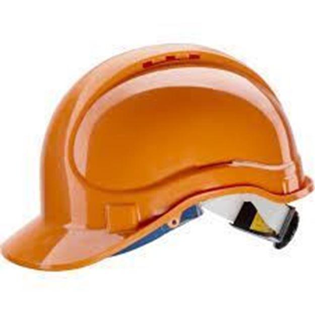 NERI SPA Κράνος πορτοκαλί E1 ABS HELMET NEWTEC