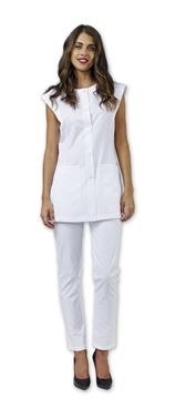 ΓΥΝΑΙΚΕΙΑ ΠΟΔΙΑ SIGGI BEAUTY VICTORIA WOMAN TUNIC WHITE