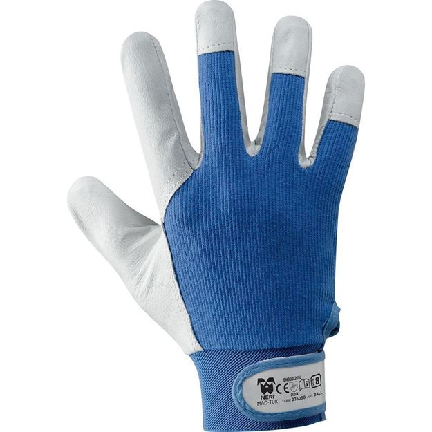 NERI SPA Γάντια BALL - MAC TUK BLUE