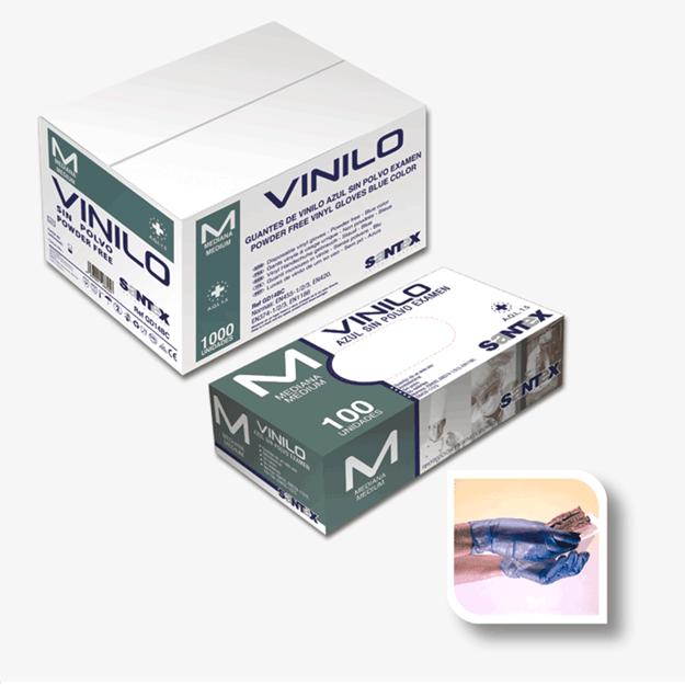 Santex Γάντια μιας χρήσης βινυλίου GD14
