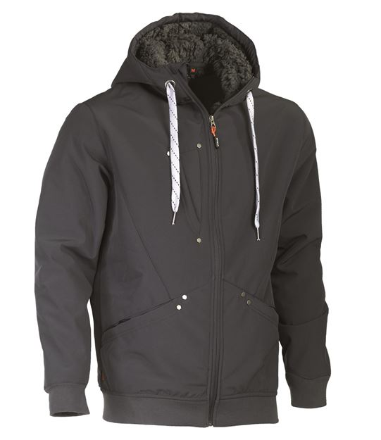 SOFTSHELL HEROCK NEYO JACKET DEEP GREY