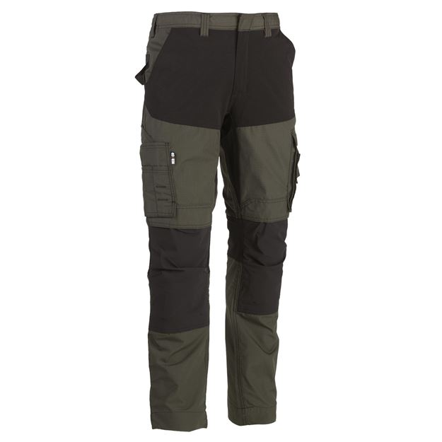 ΠΑΝΤΕΛΟΝΙ ΕΡΓΑΣΙΑΣ HEROCK HECTOR TROUSERS DARK KHAKI BLACK